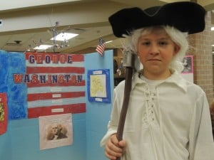 Wheeler Middle School students bring historic figures to life with 'Day at the Wax Museum'