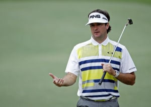 Bubba keeps it simple, builds 3-shot lead