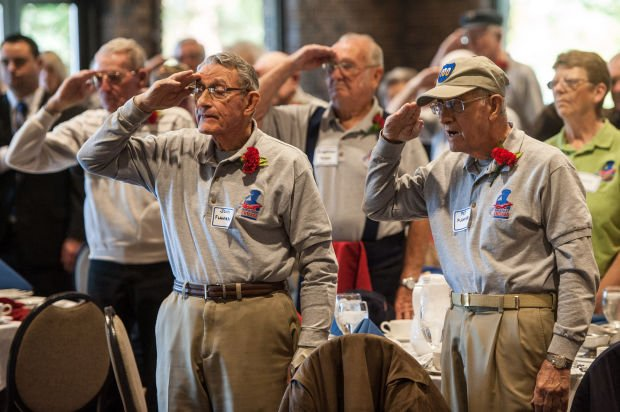Luncheon salutes World War ll vets, highlights Honor Flight Chicago