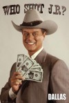 "Larry Hagman as J.R. Ewing in ""Dallas"""