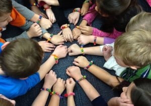 Winfield Elementary students learn value of friendship with Bucket Filling Club