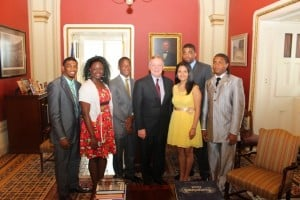 D.205 students honored in nation's capital for volunteerism