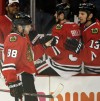 Patrick Kane, celebrating