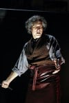 Gregg Edelman as the title character in 'Sweeney Todd' at Drury Lane Theatre