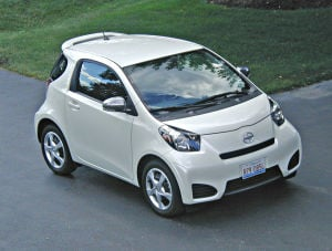 Scion iQ solves parking dilemmas