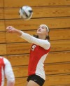 Munster's Antonia DalleCarbonare passes during Thursday's match against Valparaiso.