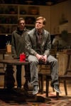 "Steve Haggard (left) and John McGinty Star in ""Tribes"" at Steppenwolf Theatre in Chicago"