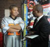 East Chicago student receive award for saving fellow student's life