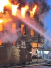 Firefighers battle Whiting blaze into the night
