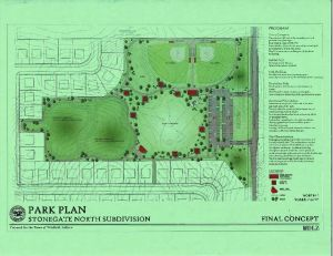 Town's first major park on the drawing board in Winfield