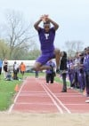 Thornton senior Thomas Taylor competes