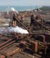 U.S. steel production up 3 percent in '12