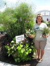 Stacy Brandy of Samuelson's Garden Center in Valparaiso with An Array of Exotic Plant Options