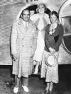 Amelia Earhart, Mary Pickford, Douglas Fairbanks Sr.