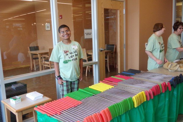 Crown Point Library's first mini-golf fundraising event was well supported
