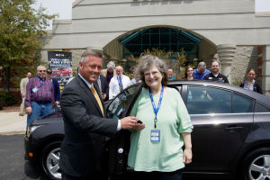 Chevy Cruze Sweepstakes winner is a believer