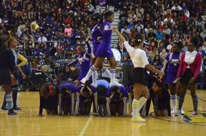 T.F. North cheerleaders win prestigious competition