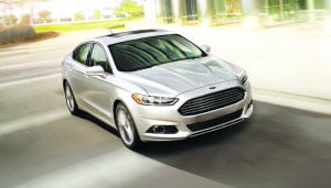 Ford Fusion leads the charge in fuel efficiency