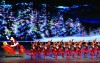 Rockettes as Reindeer in a Scene from the Radio City Christmas Spectacular