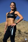 Go-go marathoner Michele Suszek of Colorado