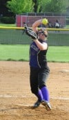 T.F. North pitcher Sara Daw