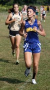 Highland's Davalos takes ninth at Rich Dust cross country invitational