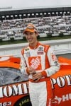 Logano wins pole at Pocono; Edwards to start 4th