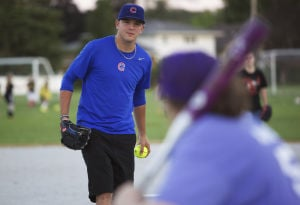 Cubs prospect pitches in to support special needs