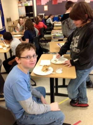 Hobart Middle School celebrates Pi Day