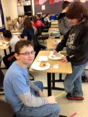 Hobart Middle School celebrates Pi Day
