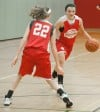 Sophomore Doud steps up for Portage's girls basketball team