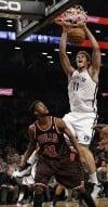 Bench carries Nets past Bulls