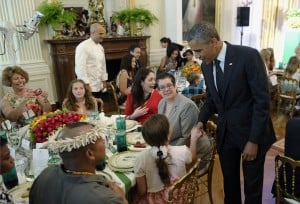 First lady hosts 'dinner' for top junior chefs