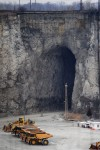 Fire erupts in Deep Tunnel near Thornton Quarry
