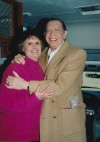 Peggy Potempa and Milton Berle