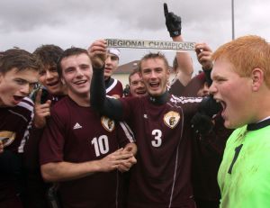 Chesterton edges Munster for boys soccer regional title