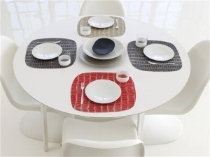 Right at Home: placemats with panache