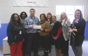 North Shore Health Centers dontes to Boys & Girls Clubs of Porter County