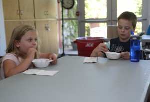 Lansing library rewards readers with ice cream social
