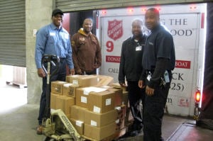 Methodist Hospital donates supplies to Salvation Army Gary's Adult Rehab Center