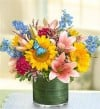 &quot;Simple Sophistication&quot; Floral Arrangement by 1 (800) FLOWERS.com