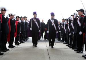 Pomp, sacred ceremonies honor K of C Abraham Lincoln Assembly