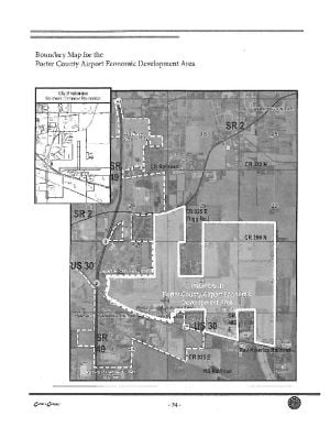 Porter County moves TIF plans from U.S. 6 to airport