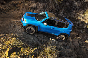 Renegade blazes new trail: New made-in-Italy Jeep has serious off-road capability