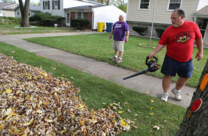 Photos: Fall cleaning