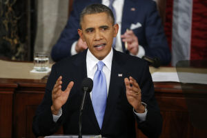 Obama vows to flex presidential powers in speech