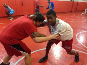 T.F. South wrestler successful in early season