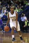 Notre Dame guard and Marian Catholic grad Kaila Turner
