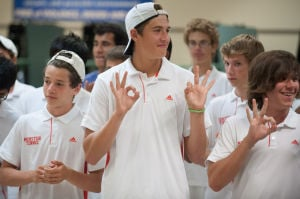 Mustangs capture 33rd straight boys tennis sectional championship