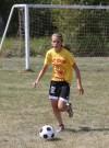 Andrean freshman midfielder Danielle Tazic